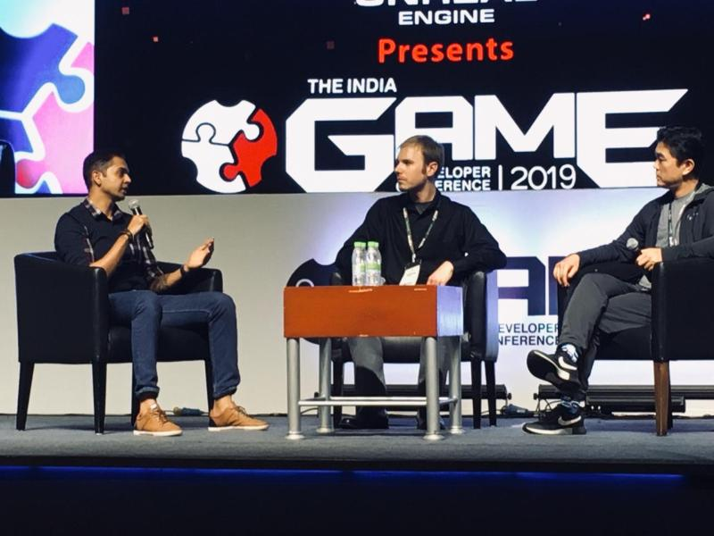 Amits interview at 2019 IGDC